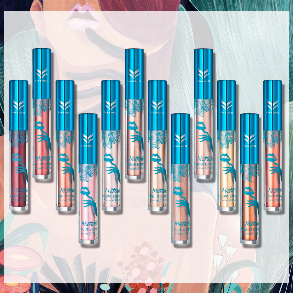 Cheap Lipgloss Waterproof batom Tint Lip Gloss Velvet Nude Makeup Matte liquid Lipstick long lasting lipgloss 2