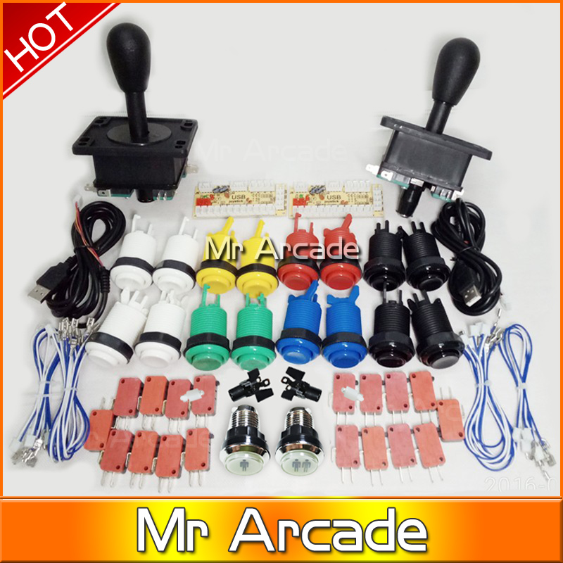 Mame USB Zero Delay USB Encoder 8 Way Classic Arcade Joystick American stype push button   with two led player buttons ваза для фруктов 34см магма империя 1029072