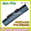 Apexway 4400 mah 6 celdas de batería portátil para acer aspire 2930 4710 4930g 5740 5737z as07a31 as07a71 as07a75 bt.00603.036