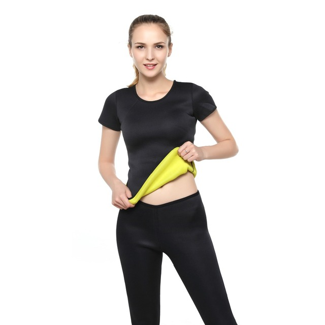 Running Sportswear Tracksuit Fitness Gym Clothing Women's Yoga Set Sport Tshirts+Slimming Pants Yoga Shirt Sports Pants 2 Pieces 2