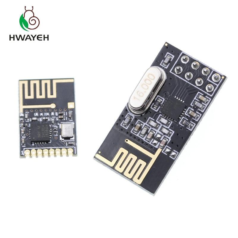 NRF24L01 + 2.4 ГГц Беспроводной Модуль Приемопередатчика Для Arduino Микроконтроллеров Антенны Беспроводной Приемопередатчик