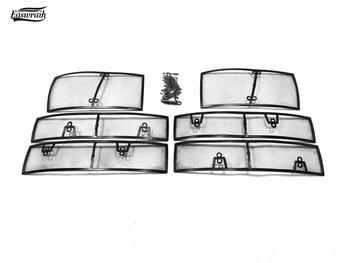 Car Metal Insect Screening Mesh Front Grille Insert Net For Volkswagen Tiguan MK2 2017-2019 Accessories