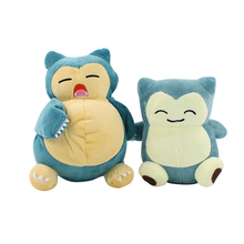 Anime Snorlax Plush Toy Kawaii Snorlax Soft Stuffed Doll Gift for Children