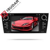 Isudar 2 Din Авто Радио Android 9 для BMW/320/328/3 серии E90/E91/E92/E93 Автомобильный мультимедийный видео dvd-плеер gps навигационная система DVR FM