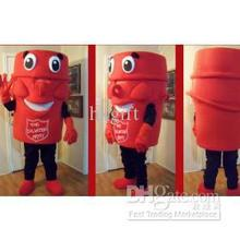 OISK- Professional The Salvation Army mascot Costume Suit Halloween Christmas Birthday
