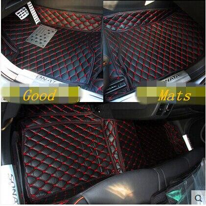 Special Floor Mats For New Hyundai Sonata 2018 2017 Durable Waterproof Foot Carpets Free Shipping
