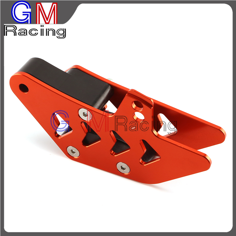 CNC Aluminum Chain Guide Guard Protection For KTM EXC EXC F SX SX F XC XC F XC FW XC W 125 530 250 350 450 500 08 15 Motorcycle
