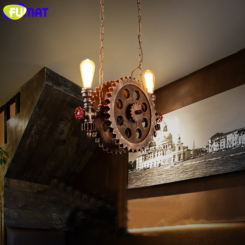 Gear Pendant Light 11