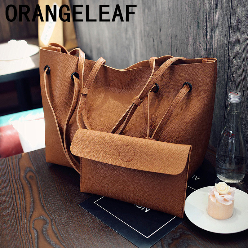 2018 Bags For Women Set Top-Handle Big Capacity Female Luxury Handbag Fashion Shoulder Bag Purse Ladies PU Leather Crossbody Bag luxury shoulder bag women top handle handbag famous designer high quality crossbody bag 2017 cc female purse bolsas ladies bags
