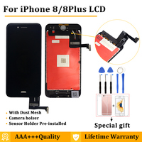 10PCS/LOT AAA+++ Grade LCD For iPhone 8 8Plus LCD With 3D Touch, No Dead Pixel Pantalla Display Assembly Screen Replacement