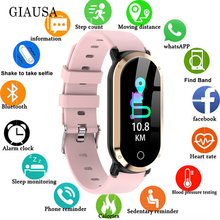 New Stylish Smart Watch Women Waterproof Clock Heart Rate Monitor Blood Pressure Fitness Tracker Men Smartwatch for IOS Android цена