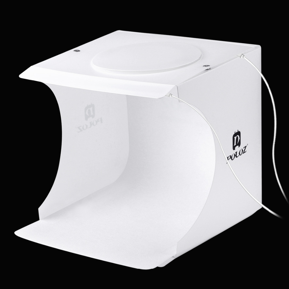 PULUZ Foldable Design Mini Small Size LED Photography Studio Box Waterproof Soft Lamp Box for SLR Cameras