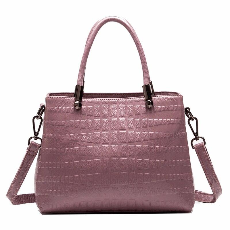 Nouveau 3 couches zipper grandes femmes sacs à main en cuir véritable travail fourre-tout sac à provisions dames épaule Messenger sacs femme peau de vache douce