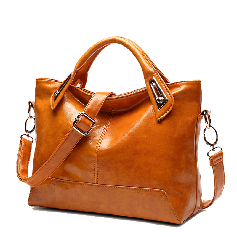ФОТО Leather Handbag New Fashion Women Bags Simple Design Women Messenger Bags High quality Women Leather Handbags Shoulder Bags