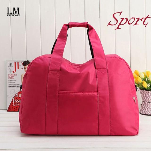 2017 New Hot Pink Gym Bag Las Designer Brand Large Famous Duffle