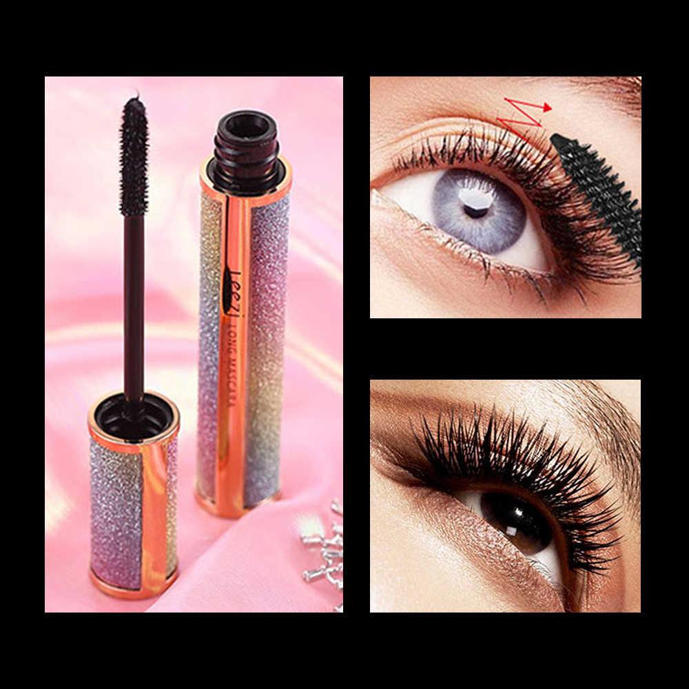 1bc65f24ed0 1pcs Black Super Curled Mascara Lengthening Long Waterproof Sweat-proof  Thick Mascara For Eyelash Extension