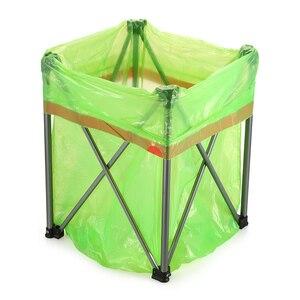 Image 3 - Inodoro plegable portátil para exteriores, silla para asiento de inodoro ligera y cómoda para acampar, senderismo, Kits de viaje para exteriores
