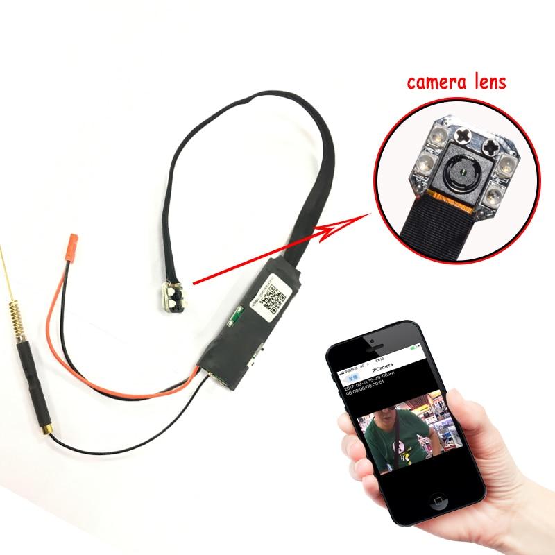 Full HD 1080P WIFI Network Camera P2P Mini Small Camera DIY Wireless Camera Module Motion Activated Mini DV Camcorder