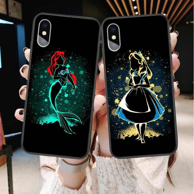 Cute cartoon Disneys Mickey Minnie Donald Duck Stitch Case For iPhone XS MAX XR Cover For iPhone X 6 6S Plus 5 SE 7 8 Plus Coque