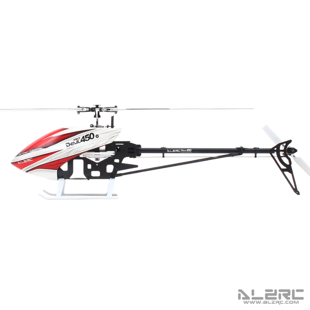 US $126 23 15% OFF|ALZRC Devil 450 Pro V2 SDC/DFC KIT RC Helicopter KIT  Aircraft RC Electric Helicopter Frame kit Power driven Helicopter Drone-in