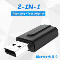 USB Bluetooth Dongle Adapter 5.0 for PC Computer Speaker Wireless Mouse Bluetooth Music Audio Receiver Transmitter aptx