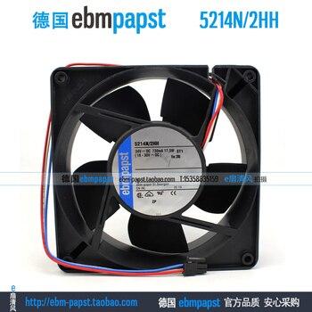 ebm papst 5214N2HH 5214N/2HH DC 24V 0.73A 17.5W 127x127x38mm Server Cooling Fan