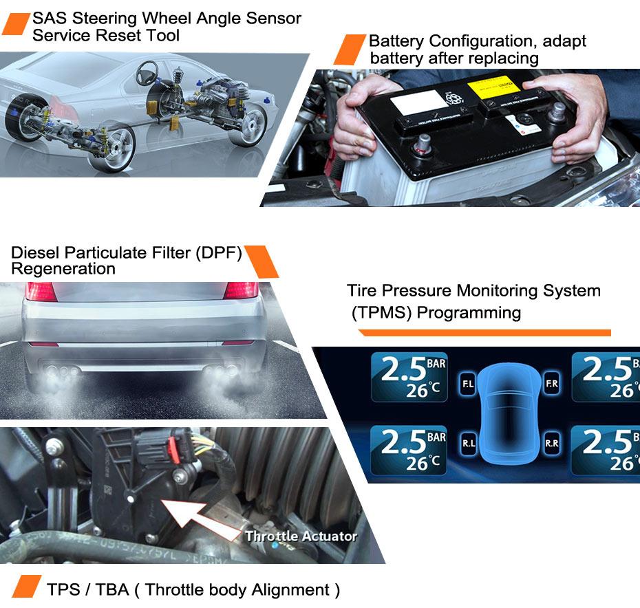 FOXWELL NT510 dla Toyota skaner diagnostyczny ABS poduszka powietrzna SRS EPB DPF olej OBD OBD2 pełny układ skaner samochodowy dla Lexus