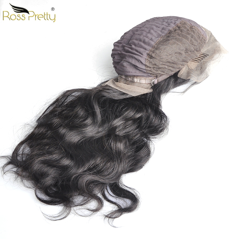 Ross Pretty Remy Human Hair Wigs Brazilian lace frontal wig Body Wave Hair Lace Front wigs 8inch 26inch in Human Hair Lace Wigs from Hair Extensions Wigs