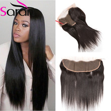 Brazilian Lace Frontal Closure Straight Virgin Cheap Lace Frontal Closures 13*4 Straight Hair Human Hair Frontal Closure