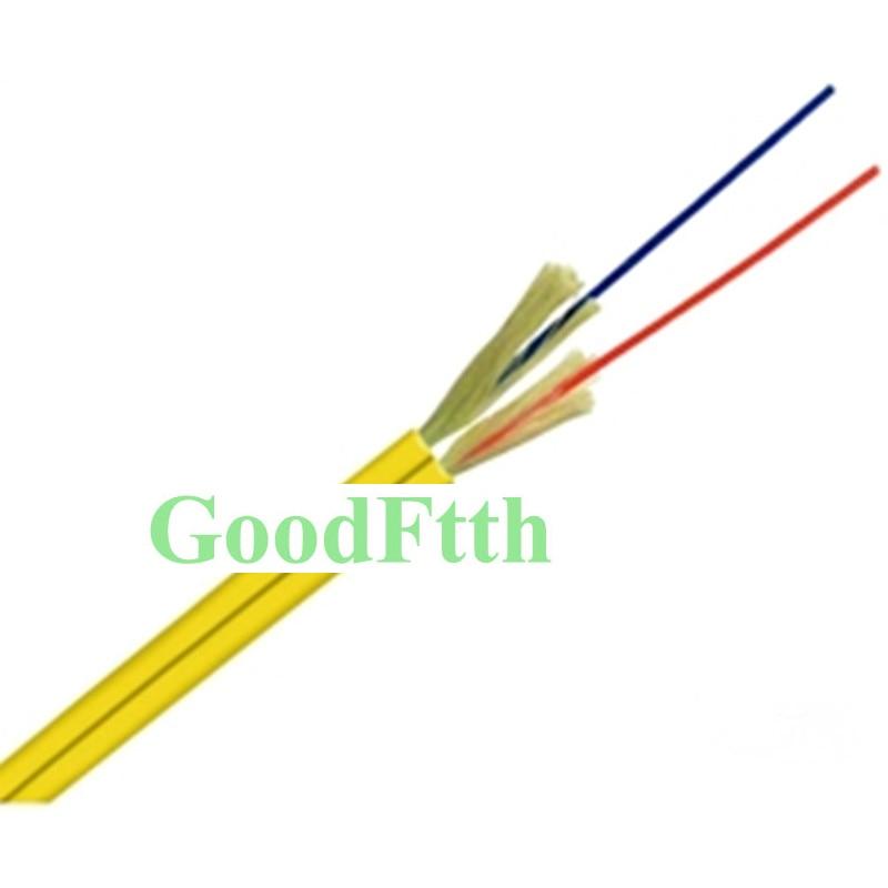 Câble d'intérieur optique SM G652D zéro Fiber de crête d'eau Duplex LSZH LSOH O. D.3mm GoodFtth 1-5km