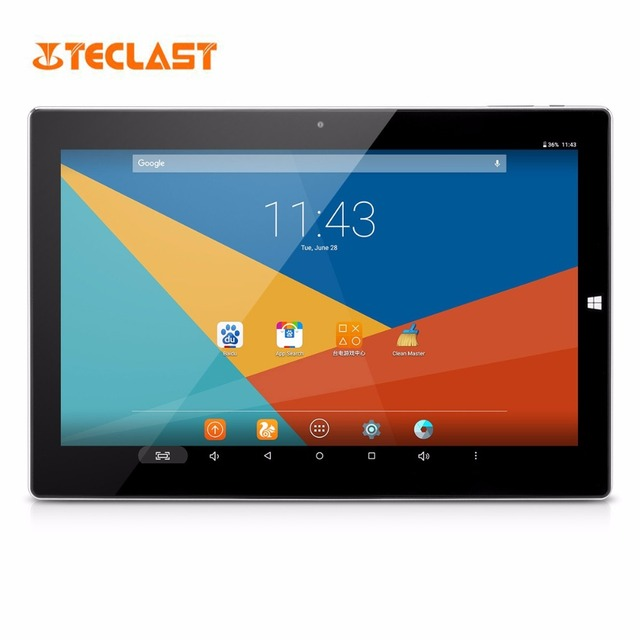 """Teclast Tbook 10S Tablet 2 in 1 Ultrabook Intel Trail T3-Z8350 Windows 10 & Android 5.1 4GB/64GB PC WIFI HDMI 10.1"""" Tablets PC"""