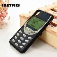 Iretmis 5 5S SE 6 6S Soft TPU Silicone phone case cover