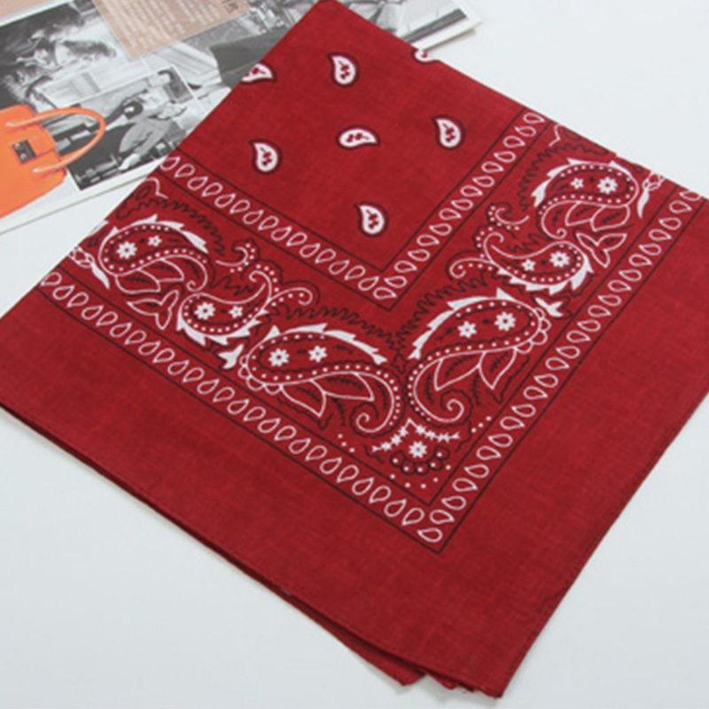 Horký výprodej Nový příchozí tisk šátek Unisex Bandanas šátek krk náramek kapesník kapuce hlavy šátek zábal šátky