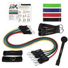 Procircle Эспандеры набор-16 шт. эспандер трубки Резиновая лента для тренировки сопротивления, физиотерапии, домашние тренажерные залы тренировки