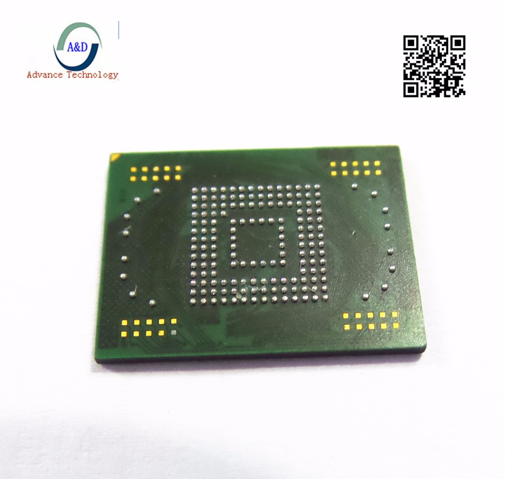 1pcs 2pcs  Original EMMC Memory Flash NAND With Firmware For Samsung Galaxy Note 10.1 N7000 N8000 16GB