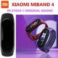 Оригинальный Смарт-браслет Xiaomi MiBand 4, Bluetooth 5,0, фитнес-браслет, цветной сенсорный экран AMOLED, стандартная китайская версия