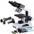 Verbindung Binokulares Mikroskop -- AmScope Supplies Verbindung Binokulares Mikroskop 40X-2000X + 1 3 MP Kamera