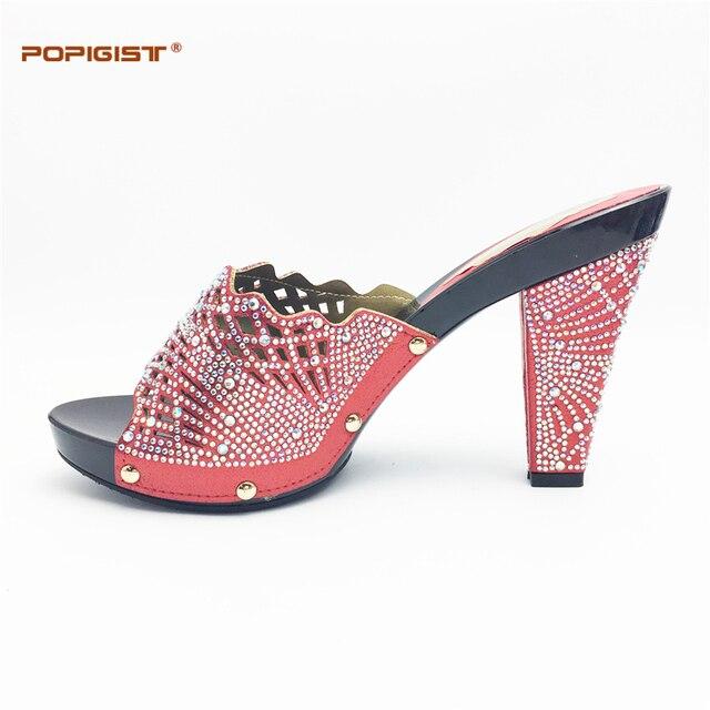 Visualizzza di più. Vamp decorato bianco cristallo rosso Delle Donne suola  in gomma Scarpa moda scarpe Italiane Italia partito 0893b78527b