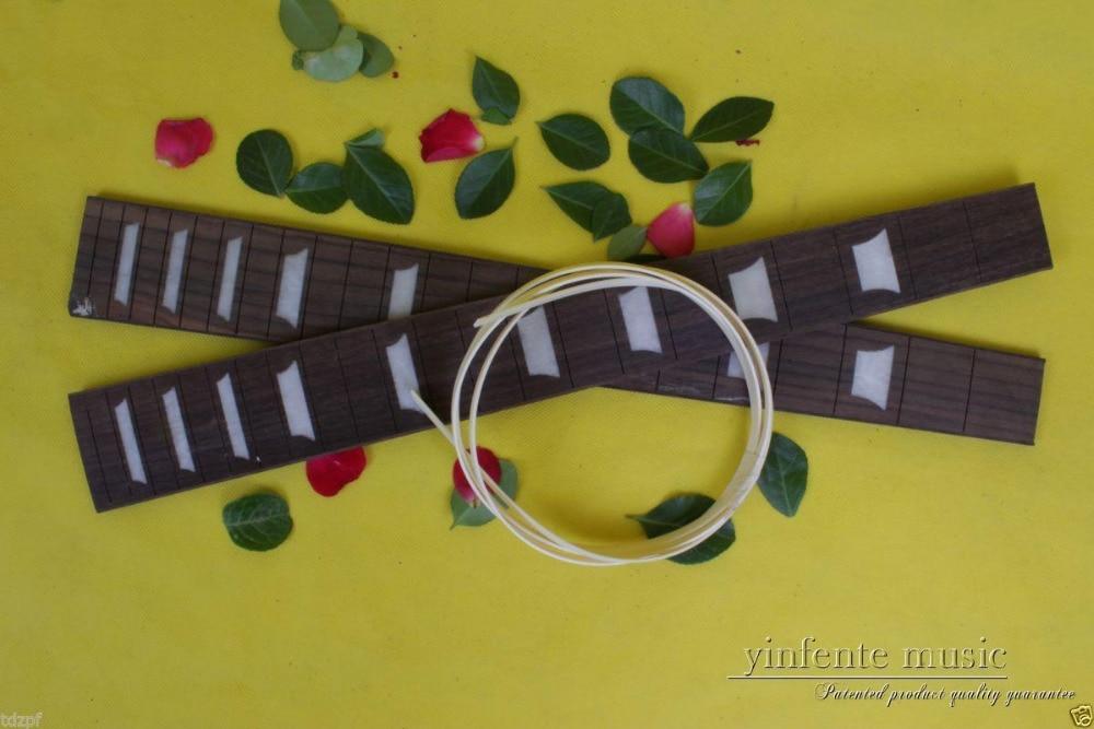 2 pcs electric Guitar Fretboard Top grade rosewood fingerboard 24.75inch #33 acoustic guitar neck fingerboard fretboard for guitar parts replacement rosewood zebrawood veneer