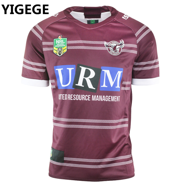 fc81f3e52 YIGEGE 2018 Manly Sea Eagles Home rugby Jersey NRL National Rugby League  Jerseys shirt nrl Jersey s-3xl