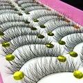 10Pair Natural False Eyelashes Soft Long Eyelash Fake Eye Lashes Extensions Tools Makeup False Eyelashes Extension Cils Wimpers