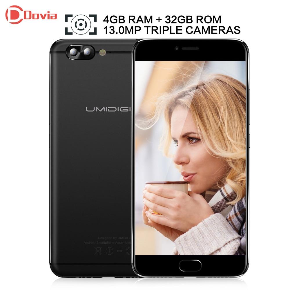 bilder für UMIDIGI Z Pro Android 6.0 5,5 zoll Helio X27 Deca Core 4 GB RAM 32 GB ROM 13.0MP Dual Hinten Kameras 3780 mAh Handy
