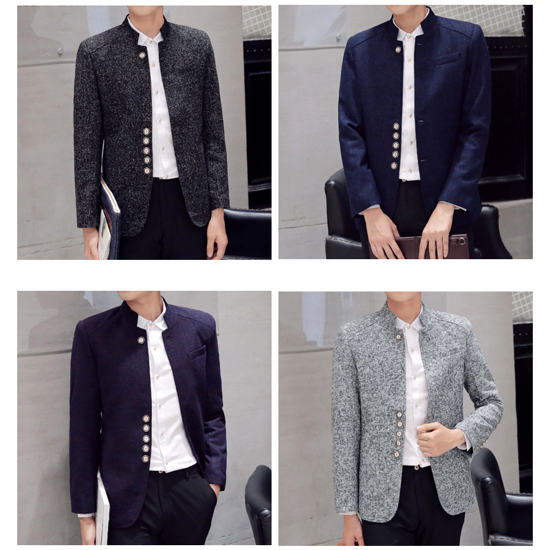 12c7ee5ce Blazers Men Hot Sale Autumn Chinese style Casual Suits Large Size Male  Spring Fashion Suits High Quality Coat Brand MOOWNUC 6XL-in Blazers from  Men's ...