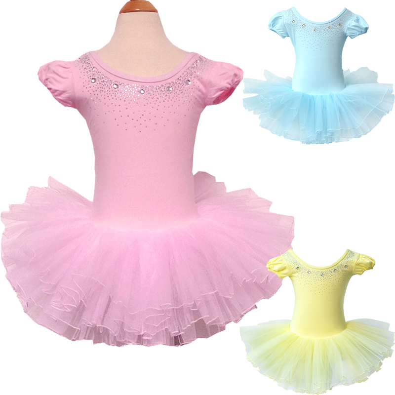 e98dc33e9 ᑐCotton Good Quality Wholesale New Girls Kids Ballet Tutu Dress ...