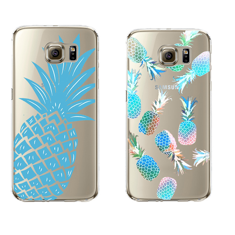 fruit pineapple soft silicon transparent fundas coque cover for samsung galaxy j5 a3 a5 2016 s5. Black Bedroom Furniture Sets. Home Design Ideas