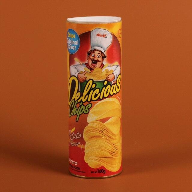 New Gag Toys Joke Prank Trick Toy Funny Potato Chips April
