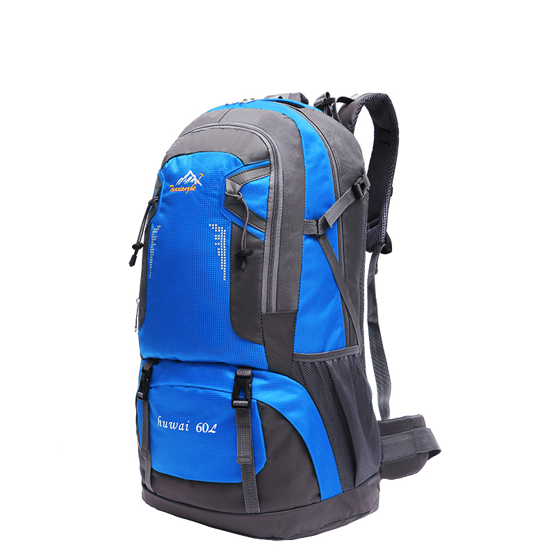 60L Large Waterproof Travel Bag Men Backpacks For Women Nylon Rucksacks Outdoor Camping Backpack Hiking Sports Bags large 60l sports bag backpack men women nylon waterproof knapsack hiking camping outdoor travel rucksack back pack