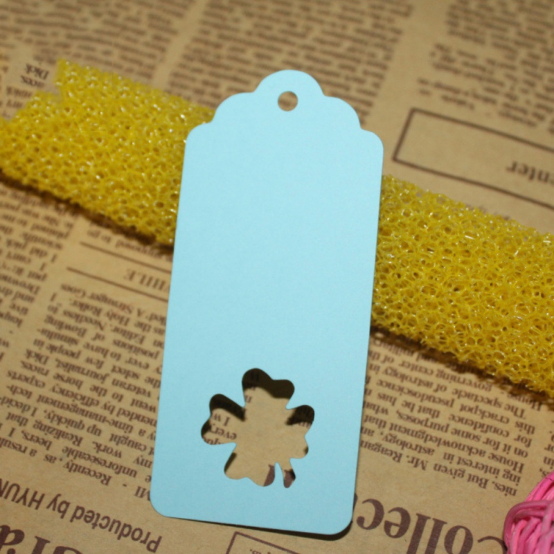 100Pcs Christmas Tree DIY Kraft Paper Tags White Brown Rectangle Label Luggage Wedding Note Blank Price Hang Tag Kraft Gift HOT1