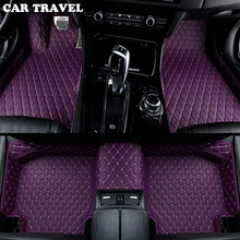 car floor mats for hover H1 H2 H3 H5 H6 H8 H9 M1 M2 M4 car accessorie car styling Custom car floor mats Black/Gray/Blue/Beige(China)