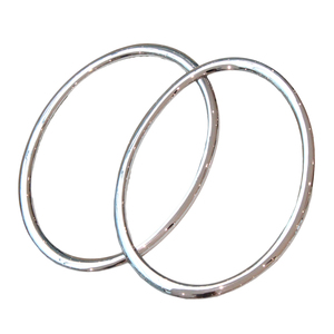 Image 2 - For Nissan Juke 2010 2014 Car Styling Head Lamp Front Bumper Headlight Ring Trim Cover Abs Chrome Auto Accessories 2pcs